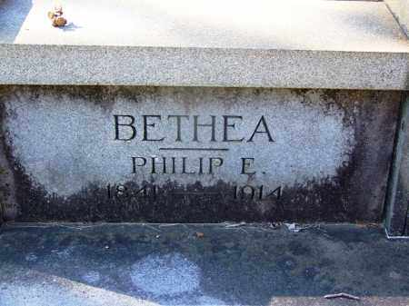BETHEA (VETERAN CSA), PHILIP E - Hot Spring County, Arkansas | PHILIP E BETHEA (VETERAN CSA) - Arkansas Gravestone Photos