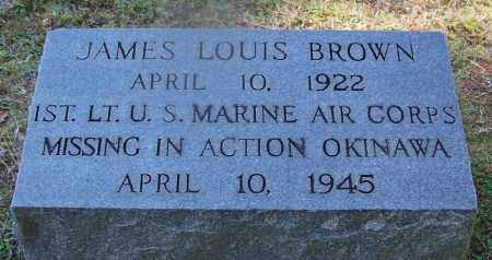 BROWN (VETERAN WWII, MIA), JAMES LOUIS - Hot Spring County, Arkansas | JAMES LOUIS BROWN (VETERAN WWII, MIA) - Arkansas Gravestone Photos