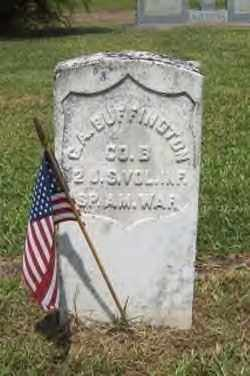 BUFFINGTON (VETERAN SAW), C. A. - Hot Spring County, Arkansas | C. A. BUFFINGTON (VETERAN SAW) - Arkansas Gravestone Photos
