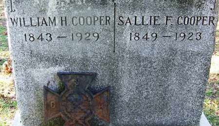 COOPER, SALLIE F - Hot Spring County, Arkansas | SALLIE F COOPER - Arkansas Gravestone Photos