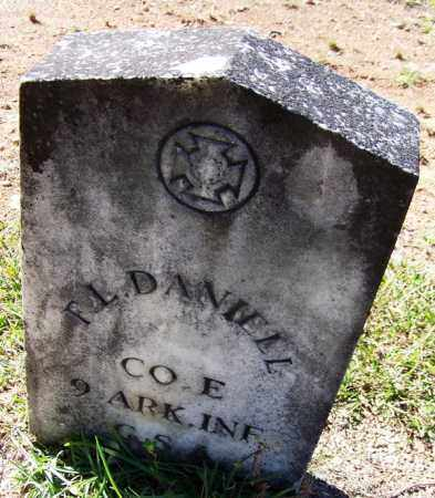 DANIEL (VETERAN CSA), F L - Hot Spring County, Arkansas | F L DANIEL (VETERAN CSA) - Arkansas Gravestone Photos