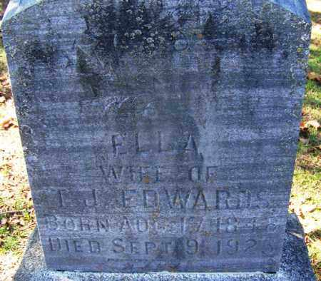 EDWARDS, ELLA - Hot Spring County, Arkansas | ELLA EDWARDS - Arkansas Gravestone Photos