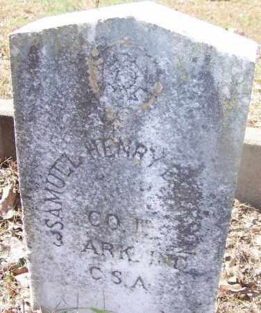 EMERSON (VETERAN CSA), SAMUEL HENRY - Hot Spring County, Arkansas | SAMUEL HENRY EMERSON (VETERAN CSA) - Arkansas Gravestone Photos