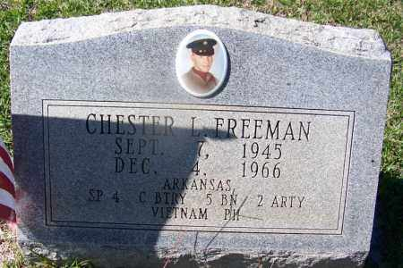 FREEMAN (VETERAN VIET), CHESTER L - Hot Spring County, Arkansas | CHESTER L FREEMAN (VETERAN VIET) - Arkansas Gravestone Photos