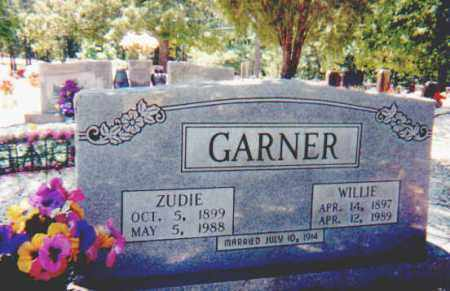 "GARNER, ELIZA MISSOURI ""ZUDIE"" - Hot Spring County, Arkansas 