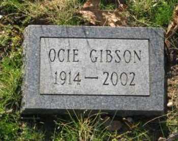 GIBSON, OCIE - Hot Spring County, Arkansas | OCIE GIBSON - Arkansas Gravestone Photos
