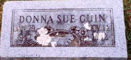 GUIN, DONNA SUE - Hot Spring County, Arkansas | DONNA SUE GUIN - Arkansas Gravestone Photos