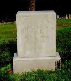HALE, JAMES ARTHUR - Hot Spring County, Arkansas | JAMES ARTHUR HALE - Arkansas Gravestone Photos