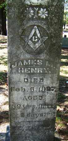 HENRY (VETERAN CSA), JAMES M - Hot Spring County, Arkansas | JAMES M HENRY (VETERAN CSA) - Arkansas Gravestone Photos