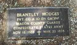 HODGES  (VETERAN CSA), BRANTLEY - Hot Spring County, Arkansas | BRANTLEY HODGES  (VETERAN CSA) - Arkansas Gravestone Photos