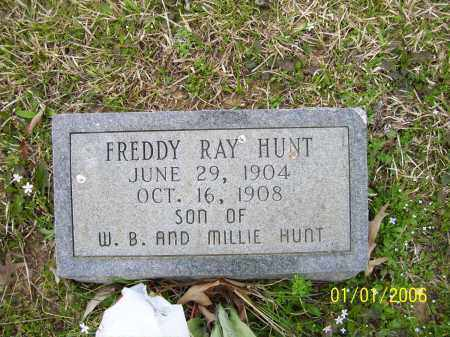 HUNT, FREDDIE RAY - Hot Spring County, Arkansas | FREDDIE RAY HUNT - Arkansas Gravestone Photos
