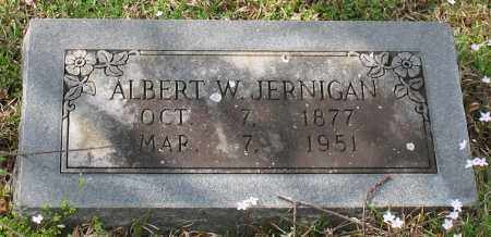 JERNIGAN, ALBERT WHITESIDES - Hot Spring County, Arkansas | ALBERT WHITESIDES JERNIGAN - Arkansas Gravestone Photos
