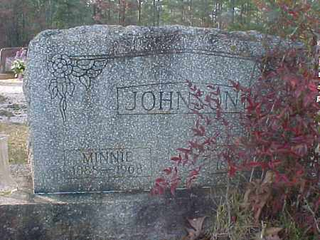 JOHNSON, LILLIAN ETHYL (MINNIE) - Hot Spring County, Arkansas | LILLIAN ETHYL (MINNIE) JOHNSON - Arkansas Gravestone Photos
