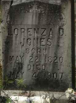 JONES, LORENZA D. - Hot Spring County, Arkansas | LORENZA D. JONES - Arkansas Gravestone Photos