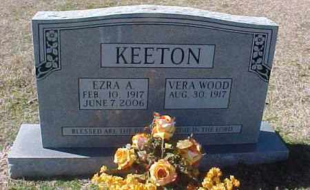 KEETON, EZRA A. - Hot Spring County, Arkansas | EZRA A. KEETON - Arkansas Gravestone Photos