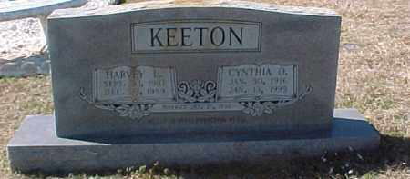 KEETON, CYNTHIA O. - Hot Spring County, Arkansas | CYNTHIA O. KEETON - Arkansas Gravestone Photos
