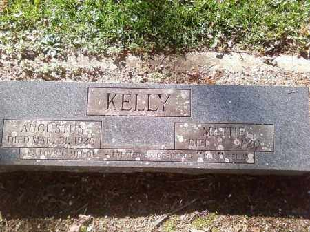 "ELLENOR KELLY, MARTHA A. ""MATTIE"" - Hot Spring County, Arkansas 