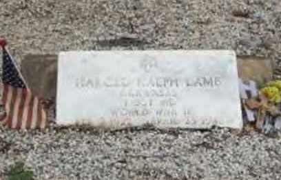 LAMB (VETERAN WWII), HAROLD RALPH - Hot Spring County, Arkansas | HAROLD RALPH LAMB (VETERAN WWII) - Arkansas Gravestone Photos
