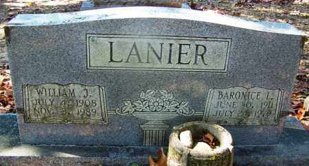 LANIER, BARONICE L - Hot Spring County, Arkansas | BARONICE L LANIER - Arkansas Gravestone Photos