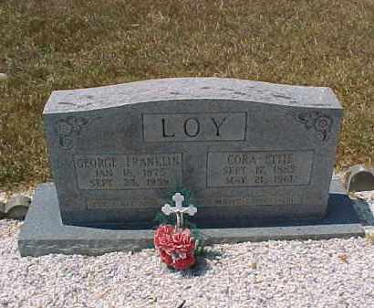 LOY, GEORGE FRANKLIN - Hot Spring County, Arkansas | GEORGE FRANKLIN LOY - Arkansas Gravestone Photos