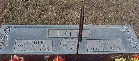 LOY, COY - Hot Spring County, Arkansas | COY LOY - Arkansas Gravestone Photos