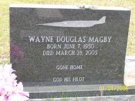 "MAGBY, WAYNE DOUGLAS ""DOUG"" - Hot Spring County, Arkansas 