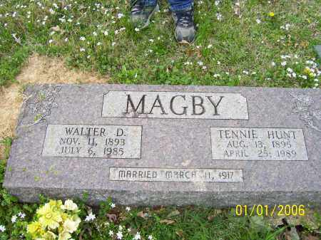 MAGBY, WALTER DAVID - Hot Spring County, Arkansas | WALTER DAVID MAGBY - Arkansas Gravestone Photos