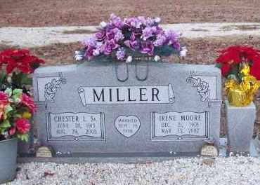 MILLER,SR, CHESTER L - Hot Spring County, Arkansas | CHESTER L MILLER,SR - Arkansas Gravestone Photos