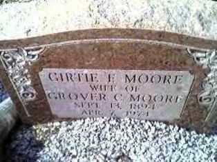 MOORE, GERTIE FLORANCE - Hot Spring County, Arkansas | GERTIE FLORANCE MOORE - Arkansas Gravestone Photos