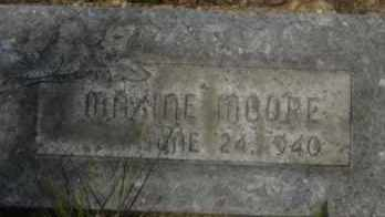 MOORE, MAXINE - Hot Spring County, Arkansas | MAXINE MOORE - Arkansas Gravestone Photos