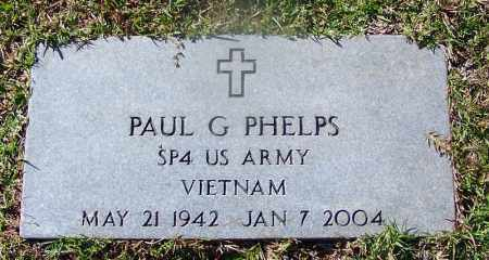 PHELPS (VETERAN VIET), PAUL G. - Hot Spring County, Arkansas | PAUL G. PHELPS (VETERAN VIET) - Arkansas Gravestone Photos