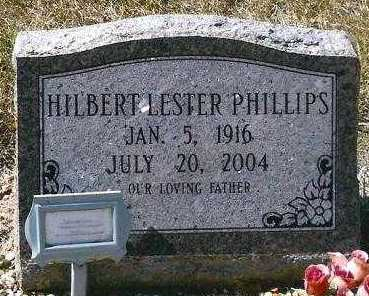 PHILLIPS, HILBERT LESTER - Hot Spring County, Arkansas | HILBERT LESTER PHILLIPS - Arkansas Gravestone Photos