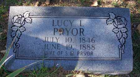 PRYOR, LUCY L - Hot Spring County, Arkansas | LUCY L PRYOR - Arkansas Gravestone Photos