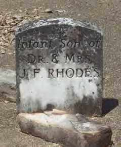 RHODES, INFANT SON - Hot Spring County, Arkansas | INFANT SON RHODES - Arkansas Gravestone Photos