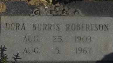 ROBERTSON, DORA - Hot Spring County, Arkansas | DORA ROBERTSON - Arkansas Gravestone Photos