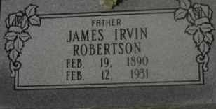 ROBERTSON, JAMES IRVIN - Hot Spring County, Arkansas | JAMES IRVIN ROBERTSON - Arkansas Gravestone Photos