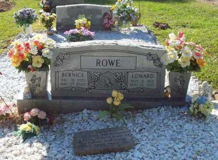TANKERSLEY ROWE, BERNICE - Hot Spring County, Arkansas | BERNICE TANKERSLEY ROWE - Arkansas Gravestone Photos
