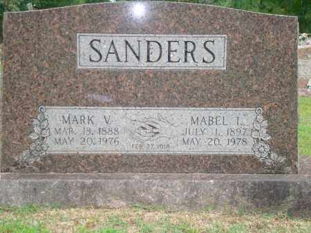 SANDERS, MARK V. - Hot Spring County, Arkansas | MARK V. SANDERS - Arkansas Gravestone Photos