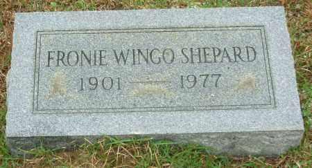 WINGO SHEPARD, SOPHRONIA (FRONIE) CAROLINE - Hot Spring County, Arkansas | SOPHRONIA (FRONIE) CAROLINE WINGO SHEPARD - Arkansas Gravestone Photos