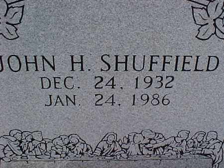SHUFFIELD, JOHN H. - Hot Spring County, Arkansas | JOHN H. SHUFFIELD - Arkansas Gravestone Photos