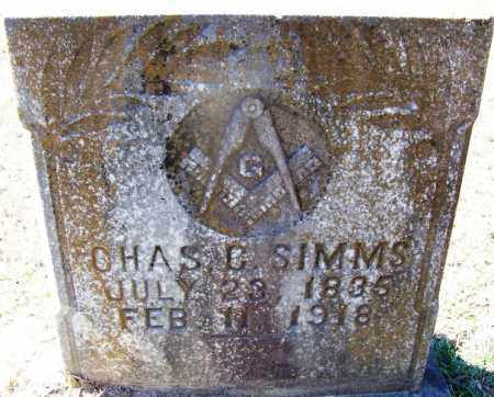 SIMMS (VETERAN CSA), CHARLES C - Hot Spring County, Arkansas | CHARLES C SIMMS (VETERAN CSA) - Arkansas Gravestone Photos