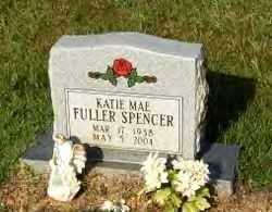 FULLER SPENCER, KATIE MAE - Hot Spring County, Arkansas | KATIE MAE FULLER SPENCER - Arkansas Gravestone Photos