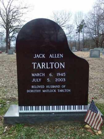 TARLTON, JACK ALLEN - Hot Spring County, Arkansas | JACK ALLEN TARLTON - Arkansas Gravestone Photos