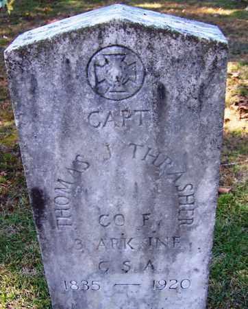 THRASHER (VETERAN CSA), THOMAS J - Hot Spring County, Arkansas | THOMAS J THRASHER (VETERAN CSA) - Arkansas Gravestone Photos