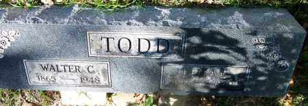 TODD, WALTER C - Hot Spring County, Arkansas | WALTER C TODD - Arkansas Gravestone Photos
