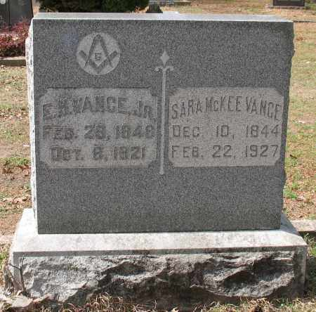 VANCE, SARA - Hot Spring County, Arkansas | SARA VANCE - Arkansas Gravestone Photos