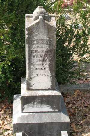 VANCE, MCKEE - Hot Spring County, Arkansas   MCKEE VANCE - Arkansas Gravestone Photos
