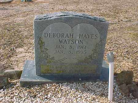 WATSON, DEBORAH - Hot Spring County, Arkansas | DEBORAH WATSON - Arkansas Gravestone Photos