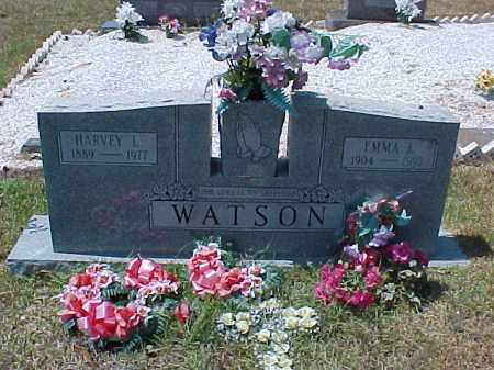 LOY WATSON, EMMA J. - Hot Spring County, Arkansas | EMMA J. LOY WATSON - Arkansas Gravestone Photos