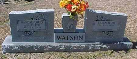 WAITE WATSON, EILEEN - Hot Spring County, Arkansas | EILEEN WAITE WATSON - Arkansas Gravestone Photos